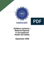 Nebosh Diploma