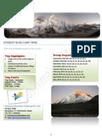 Everest base camp trekking package