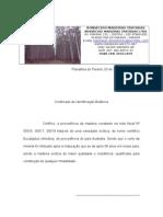 Certificado de Identificacao Botanica