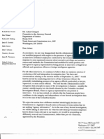 FO B2 Commission Meeting 7-31-03 Fdr- Tab 2 Entire Contents- Correspondence w DOJ Re Minders 613