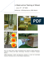 Course in Non-Destructive Testing of Wood