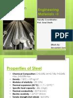 Tensile Test on Steel