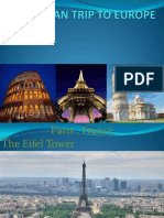 Family Plan Trip to Europe