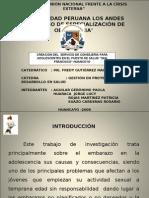 Creación del  Servicio de Consejeria para Adolescentes en el Puesto de Salud San Francisco - Huancayo