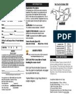 2013 5K Registration Form