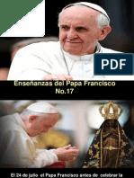Enseñanzas del Papa Francisco. Nº 17