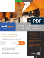 KwikPayables Payment Approval Brochure