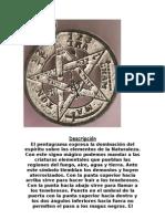 Descripción pentagrama esoterico