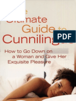 The Ultimate Guide to Cunnilingus