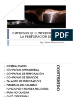 COMPAÑIAS DE PERFORACIÓN