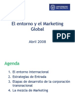 El entorno y el Marketing Global