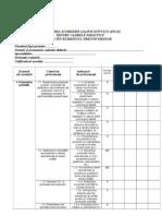 0 Fisa de Autoevaluare Evaluare Conform Ordinului 61432011