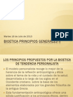 Bioetica Principios Generales II
