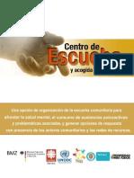 Centro de Escucha y Acogida Comunitaria 2012 Actual