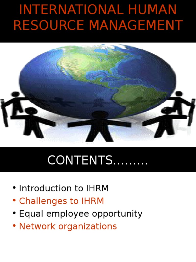 an introduction to international hrm Chapter 14 international hrm looks at the differences between international hrm and introduction video: human resource management day to day.