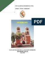 Mapas de Peligro Morrope