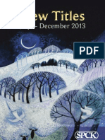 SPCK Seasonal Catalogue July-Dec 2013