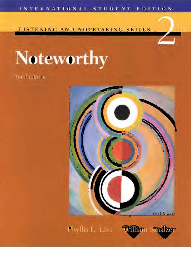 Noteworthy Tapescript and Answer Key: Listening and Note ...