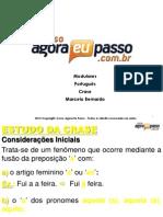 AEP Modulares Portugues Crase Marcelo Bernardo