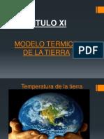 CAP. XI.- Modelo Termico de La Tierra..