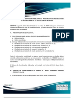 Manual Para Levantamiento de Informacion