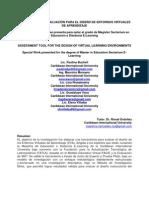 HERRAMIENTA DE EVALUACIÓN  DEL DISEÑO EVA BASADA EN EL MODELO EDUCATIVO VIRTUAL PACIE Y LA EVALUACION DE 360 (Publicación)