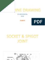 Machine Drawing S3 Mech [Class 6]