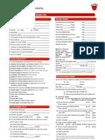 호주 La Lingua 시드니 2013 Enrolment form for Non Student