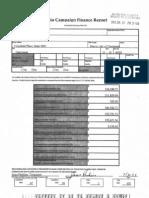 Roxanne Qualls' finance report