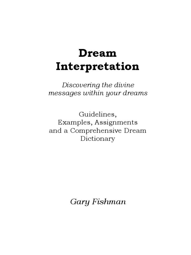 Dream interpretation and dictionary dream revelation malvernweather Image collections