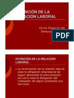 Extincion Relacion Laboral 25Jun