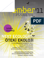 amber'11 Art and Technology Festival (inc. proceedings)
