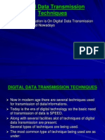 Digital Data Transmission Techniques
