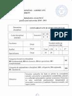 Programa Analitica 2010-2011