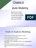 Pressman Ch 8 Analysis Modeling