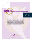 Solo6 Outline Templates