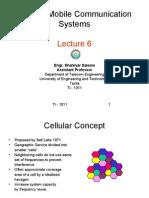 Lecture 6 Cellular Concept