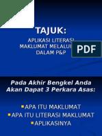 APLIKASI literasi maklumat