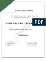 MEMS Nano