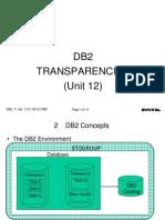 DB2 UNIT 12