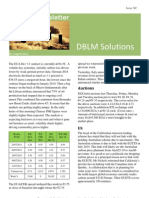 DBLM Solutions Carbon Newsletter 01 Aug