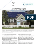 Power To the People!  Watt's#17PV Array