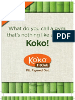 Koko Fit Club Monroe Insert