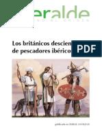 Los Britanicos Descienden de Pescadores Ibericos