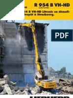 Rapport d'Exploitation R 954 B VH-HD La Pelle R