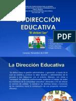 Practicas Educativas La Direccion II