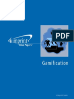 Gamification Blue Paper by promotional products retailer 4imprint