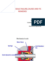 Mechanical Seals Failure,Causes and Its Remedies
