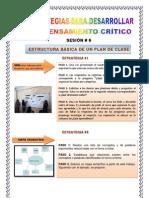 ESTRATEGIAS PARA DESARROLLAR EL PENSMAIENTO CRÍTICO