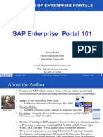 SAP Enterprise Portal Intro
